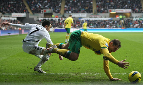 Swansea City v Norwich City
