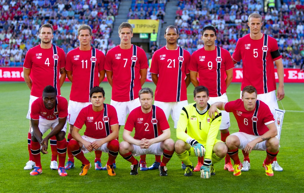 Norway_starting_XI_vs_England_May_2012