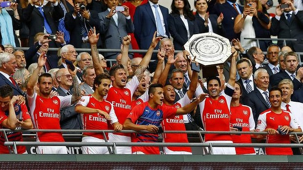 Arsenal - Community Shield vinner 2015