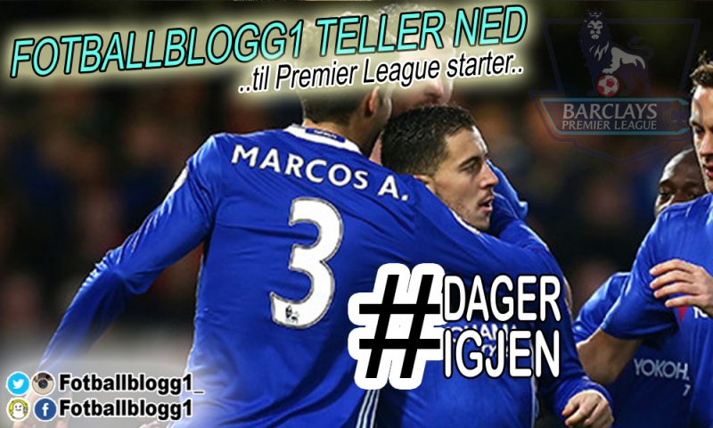 Nedtelling til Premier League 2017/18